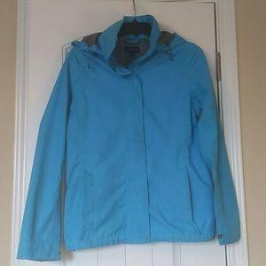 Land's End Hooded Raincoat